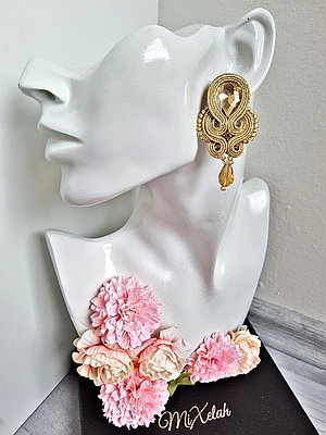 Soutache Mini - zlaté